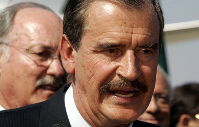 Vicente Fox Makes Drug Cartel Proposal in Bay Area