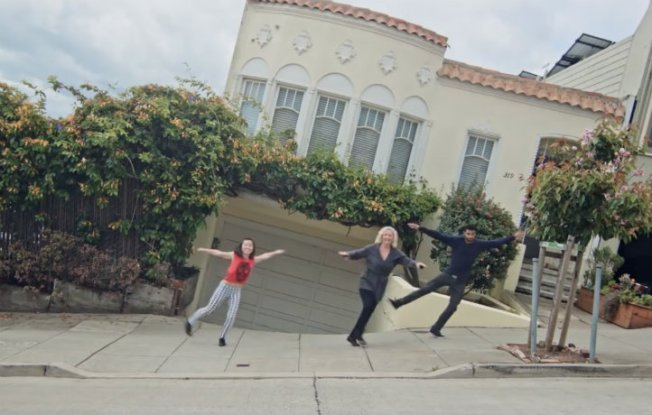 San Francisco's Steep Hills Inspire Viral Dance Video