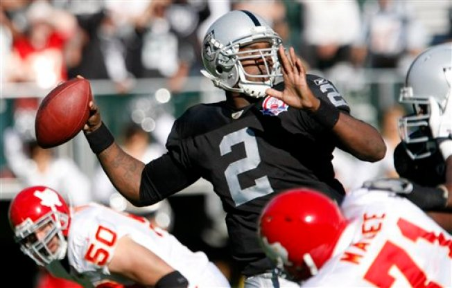 JaMarcus Benched Again in Ugly Raiders Loss