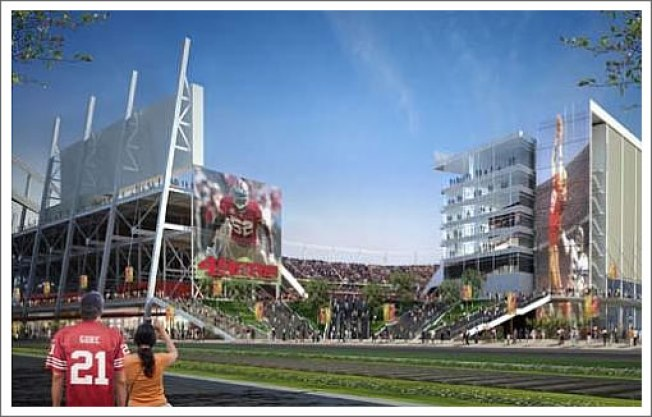 49ers' New Stadium Relies on Record Loans
