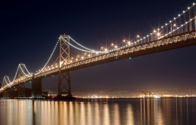 Bay Area's Biggest Canvas: the Bay Bridge