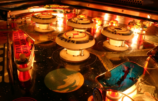 Sparkle Flash: Retro Pinball Fashion Sale