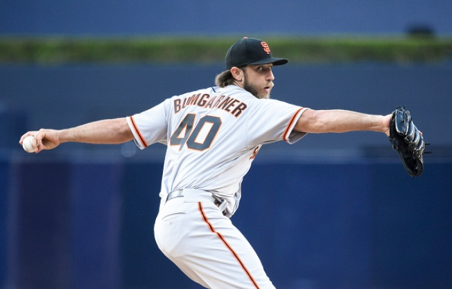 Giants' Bumgarner Slated to Make Two Rehab Starts in San Jose