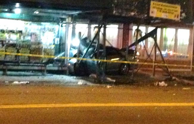 Child, 11 Others Hurt When Car Jumps Curb in Brooklyn