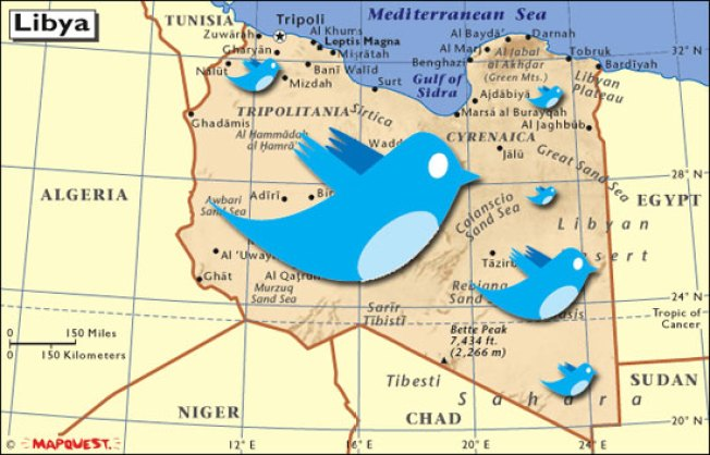 NATO Using Twitter to Crowd Source Libyan Missile Strike Locations