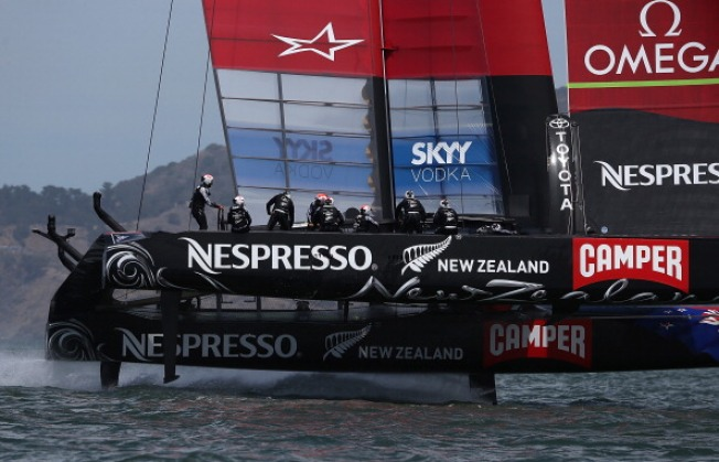 America's Cup Cancelled Weekend Races Held Monday