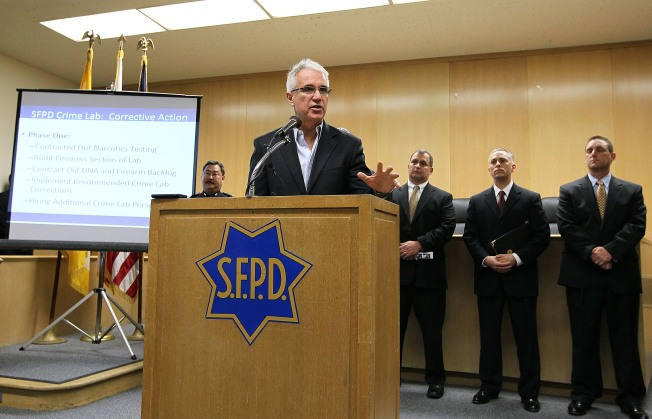 SFPD Crime Lab Supervisors Demoted