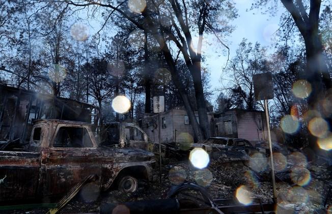 Fire-Scarred Northern California Areas Escape Large-Scale Rain Damage