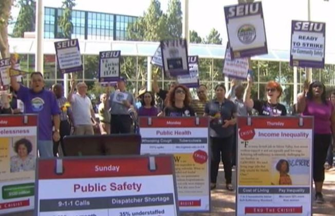 Thousands of Santa Clara County Union Workers Set to Strike