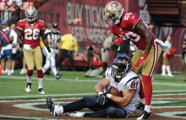 Niners Again Show Their Shaky Side