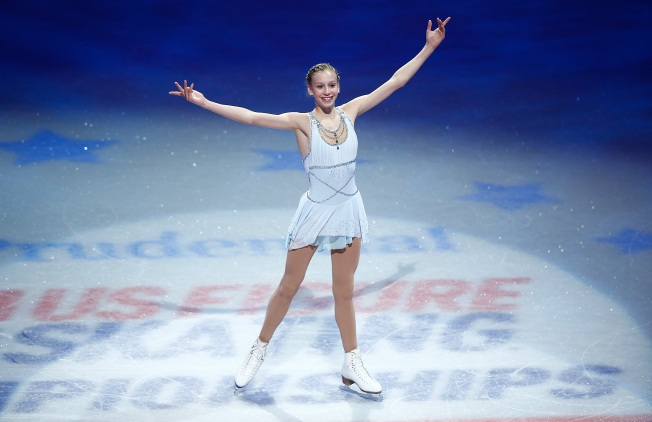 Bay Area Teen Figure Skater to Represent U.S. in Sochi Winter Olympics
