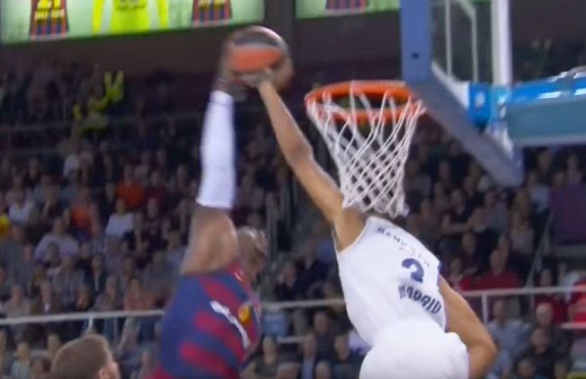 Former Warrior Registers Must-see Block in Euro League