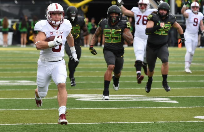 McCaffrey Eclipses 1,000 Yards, Runs For Three TDs in Win Over Oregon
