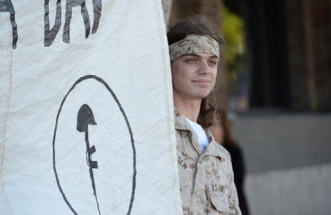 Veterans Join With Occupy Movements