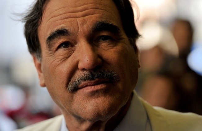 Oliver Stone Set to Spin Conspiracy Theories in SF