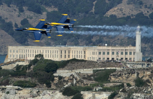 Fleet Week Flies Into SF