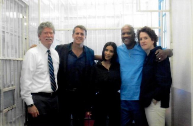 Kim Kardashian Visits San Quentin Death-Row Inmate Accused of Murdering Four