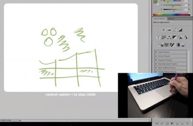 Inklet Turns Your MacBook Trackpad Into a Tablet