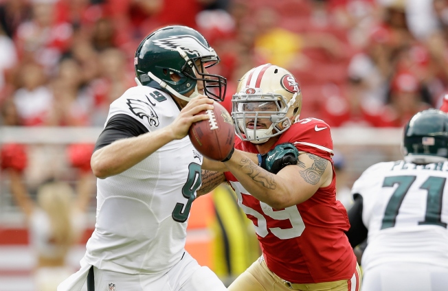 Niners Defense Gets Spark From Lynch