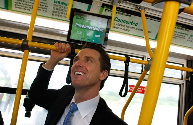 Newsom Goes To China; Not For Vacation