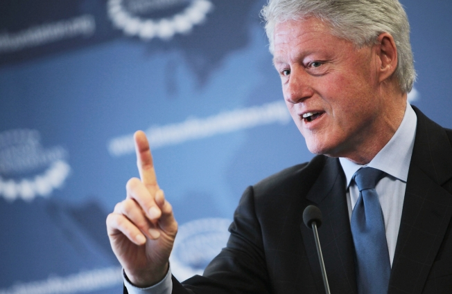 President Clinton Comes to Berkeley With a New Heart