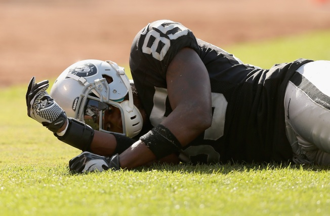 Raiders Not Certain When Heyward-Bey Will be Able to Play Again