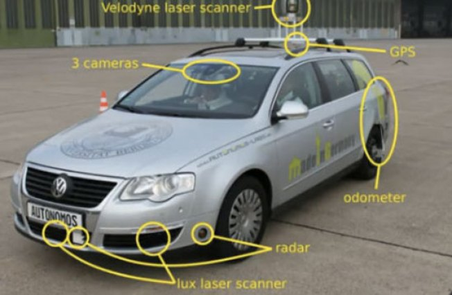 Driverless Taxi Is Controlled With iPad App