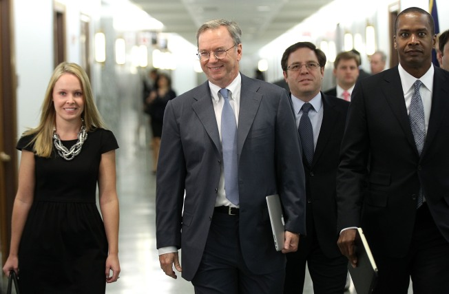 VIDEO: Eric Schmidt Defends Google in D.C.