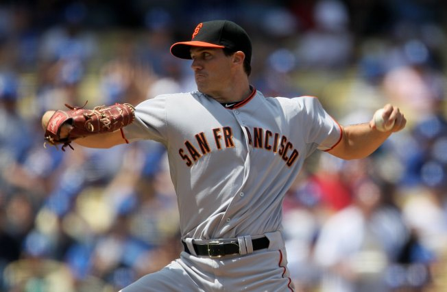 Zito Back in Oakland as Giants Face A's