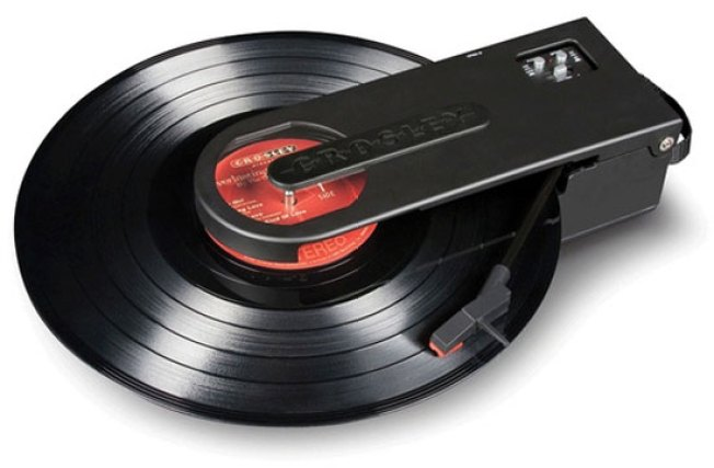 Portable Turntable Takes Your Record Collection for a Walk