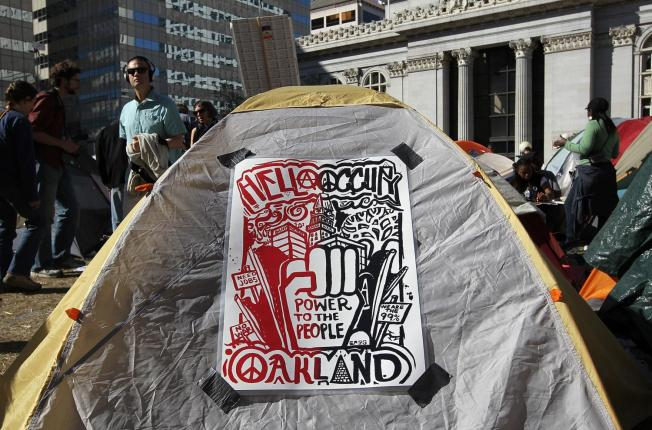 Occupy Oakland Gets Eviction Notice