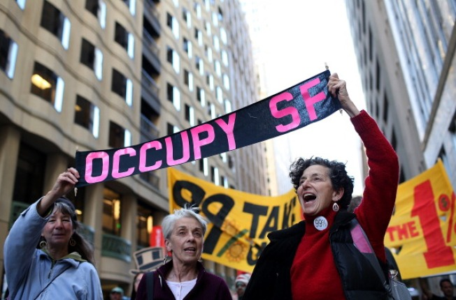 Occupy SF Protesters Vow to Retake Justin Herman Plaza