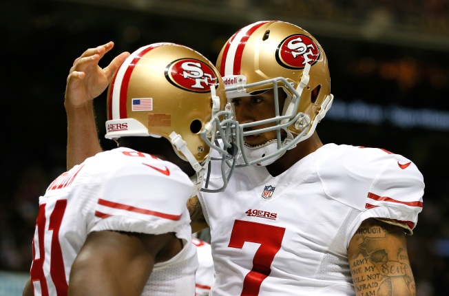 Kaepernick's 2014 Looking Brighter with Anquan Boldin