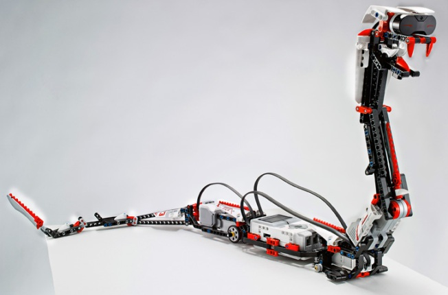 Silicon Valley Engineers Await Latest Lego Robot Kit