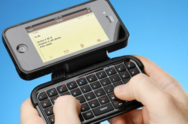 Finally, a Physical Keyboard for Your iPhone