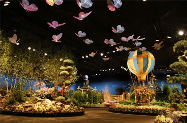 Macy's Flower Show Presents The Secret Garden