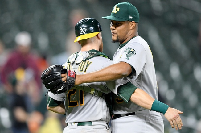 Fiers Stays Unbeaten With Oakland, A's top Orioles 3-2
