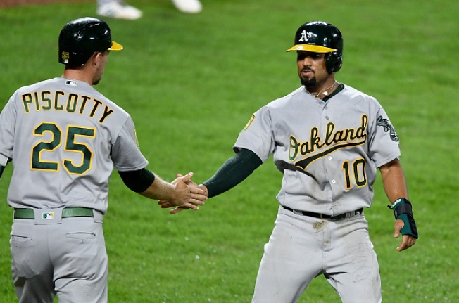 Athletics Use 10-Run Third Inning to Beat Orioles 10-0