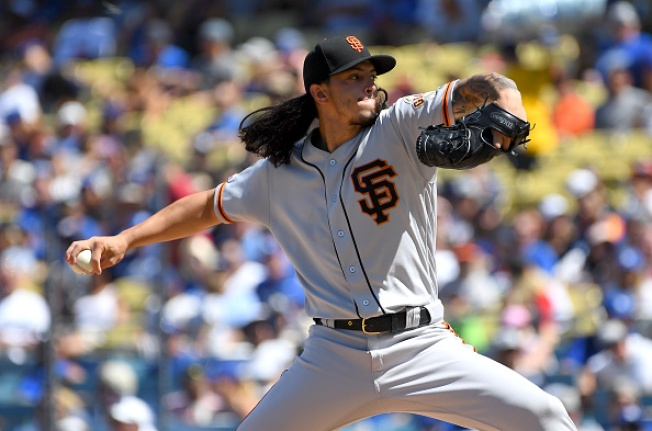 Giants Suffer Shutout Loss, Unable to Complete Sweep in LA