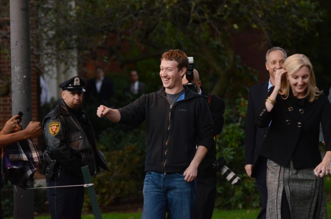 Mark Zuckerberg Returns to Harvard