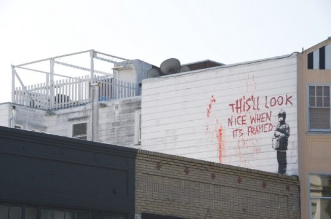 Banksy Gets Whitewashed From the Mission