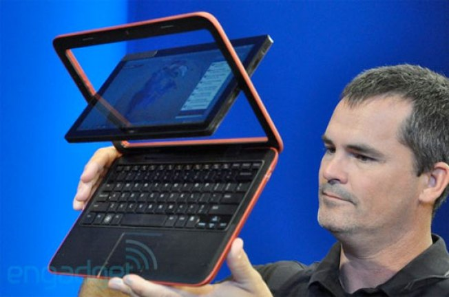 Dell Duo Transforms Fom a Netbook to a Tablet With a Simple Screen Swivel
