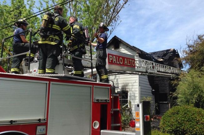 2 Palo Alto Homes Badly Damaged In 3-Alarm Fire