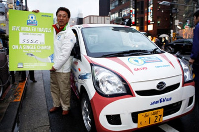 Electric Car Travels World-Record 345 Miles on a Charge