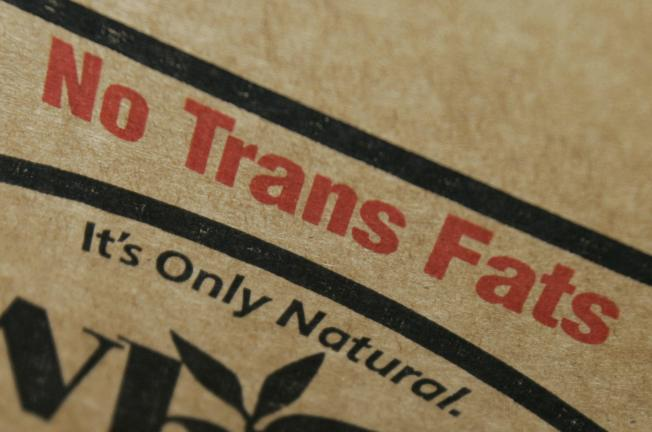 New Year's First Victim: Trans Fat