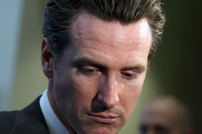 Could Newsom's Celebrity Friends Pull Him Out of Hiding?