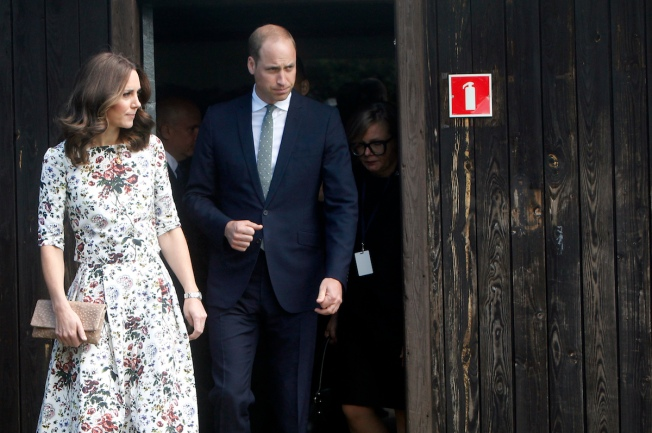 Prince William, Kate Visit Nazi Death Camp, Gdansk on Poland Trip