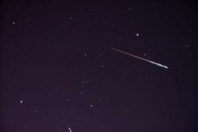 Weather May Dim Weekend Meteor Shower