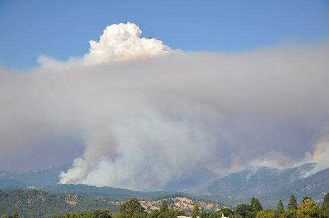 Pass Wildfire Leads to New Evacuations in Mendicino