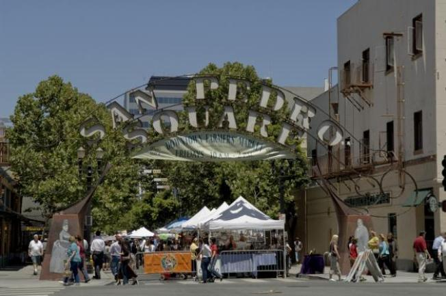 Downtown San Jose Farmer's Market 2014